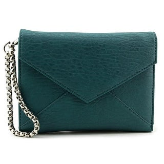 Violet Ray Hanna Wristlet Women Synthetic Green Wristlet