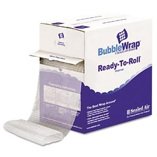 Bubble Wrap. Cushion Bubble Roll, .5 in. Thick, 12 in. x