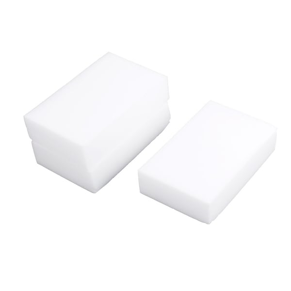 3Pcs Multi-functional Car Nano Washing Sponge Cleaning Block Foam Eraser White