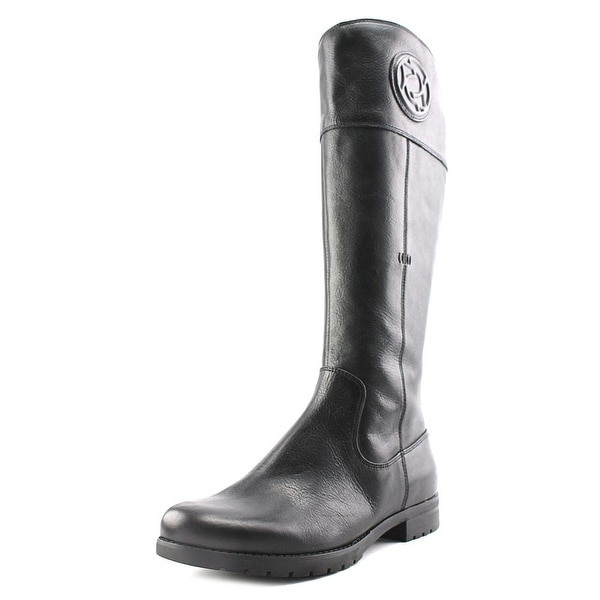 Rockport Tristina Rosette Tall Boot Wide Calf Leather Knee High Boot