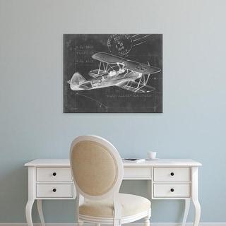 Easy Art Prints Ethan Harper's 'Flight Schematic I' Premium Canvas Art