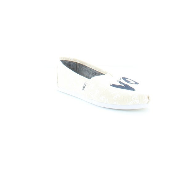 TOMS Classic Women's Athletic White / Gold - 8