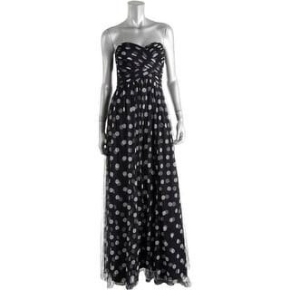 Lauren Ralph Lauren Womens Formal Dress Strapless Full-Length