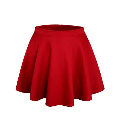 NE PEOPLE Stretchy Mini Flared Skater Skirt S-3XL [NEWSK06]