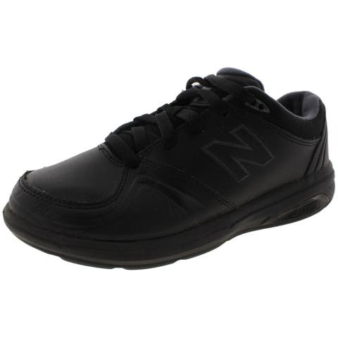 New Balance Womens 813 Walking Shoes Leather Sneakers