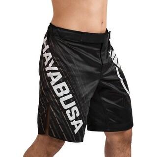 Hayabusa Chikara 4 Knee-Length MMA Fight Shorts - Black