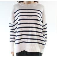 Lauren by Ralph Lauren White Women's Size Large L Crewneck Sweater