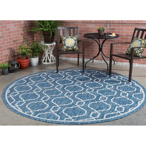 Alise Rugs Colonnade Transitional Geometric Indoor Outdoor Area Rug