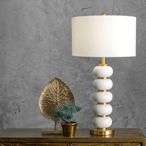 """nuLOOM Hazel 29"""" Iron Table Lamp"""