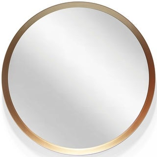 Link to Decorative 18 inch Round Copper Mirror Similar Items in Mirrors