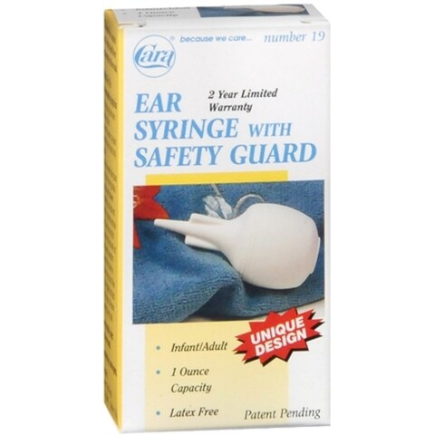 Cara Ear Syringe With Safety Guard No. 19 1 Each