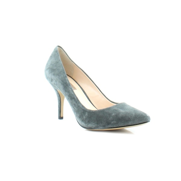 INC Zitah Women's Heels Dark Grey