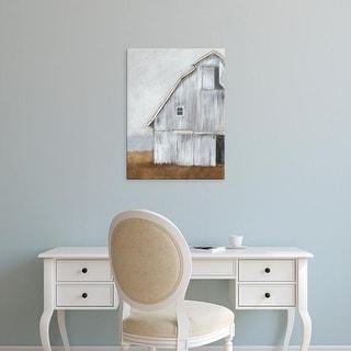 Easy Art Prints Ethan Harper's 'Abandoned Barn II' Premium Canvas Art