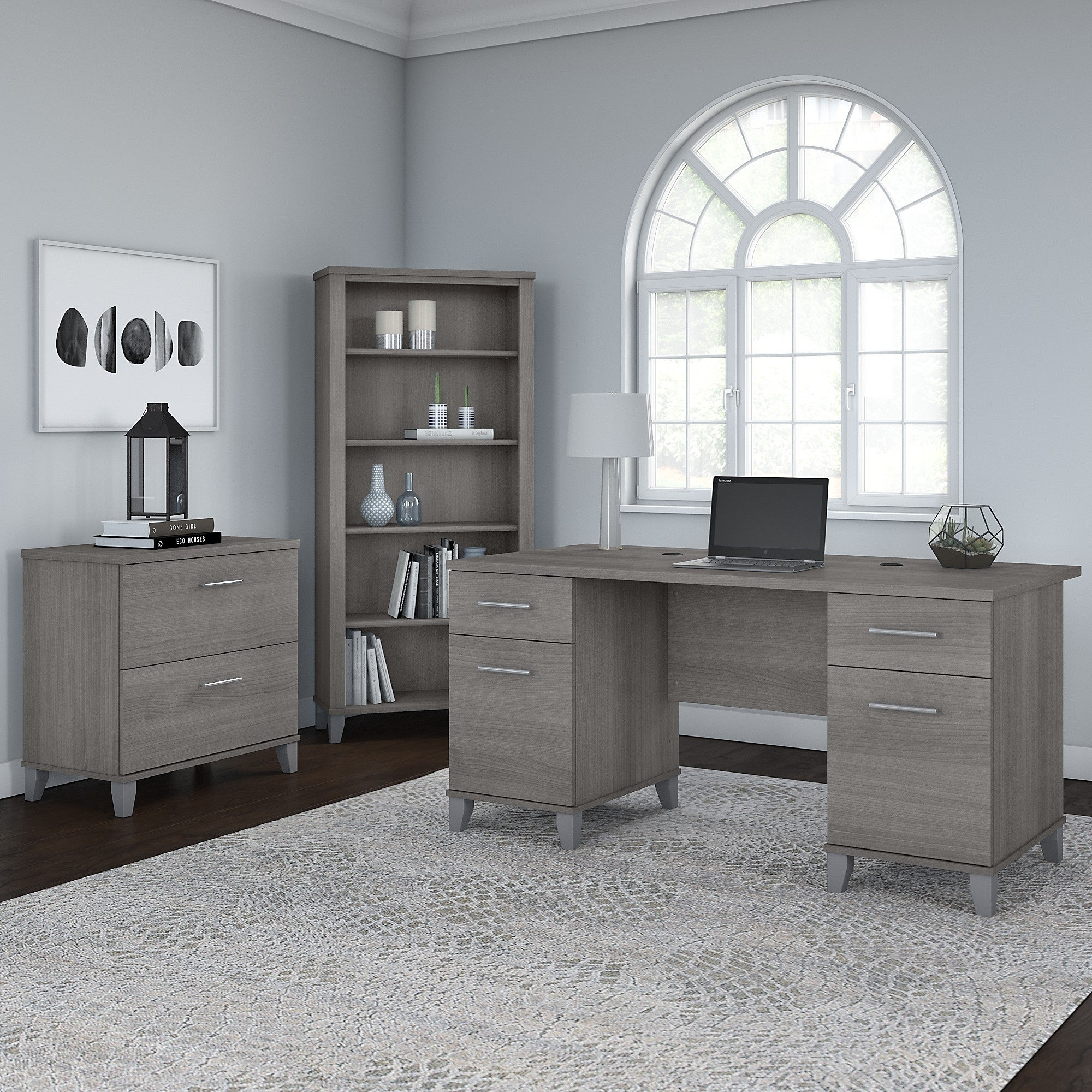 Copper Grove Shumen 3 Piece Office Bundle Furniture Set