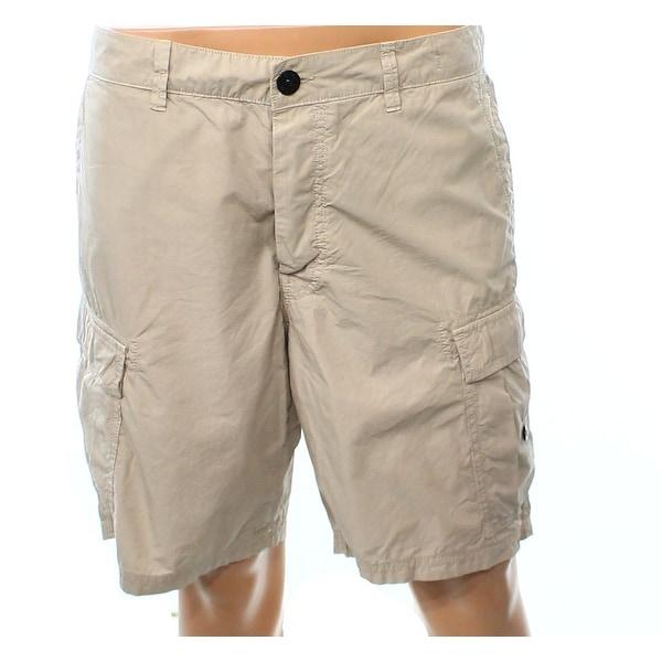 bd991de56 Shop Stone Island NEW Beige Mens Size 38 Casual Cargo Shorts Cotton ...