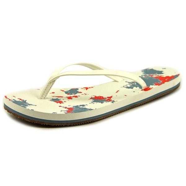 Splendid Firefly Women Open Toe Synthetic White Flip Flop Sandal