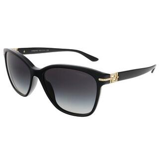 Versace VE4290B GB1/8G Black/Rose Gold Wayfarer sunglasses