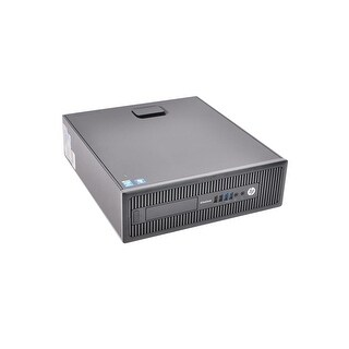 "HP Elitedesk 800 G1 SFF Standard Refurb PC - Intel i5 4570 4th Gen 3.2 GHz 4GB DIMM DDR3 SATA 3.5"" 750GB DVD-ROM Windows 10 Home"