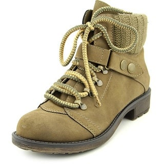 American Rag Harvey Women  Round Toe Synthetic Brown Ankle Boot