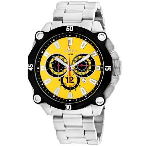 Roberto Bianci Men's Enzo Yellow Dial Watch - RB71011