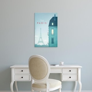 Easy Art Prints Henry Rivers's 'Paris' Premium Canvas Art