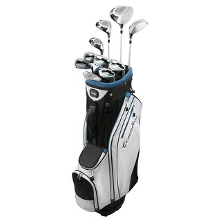 Powerbilt Countess Cyan 15 Piece Ladies Golf Package Set Plus 1 Inch Length