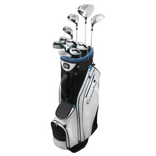 Powerbilt Countess Cyan 15 Piece Ladies Golf Package Set - Petite Length