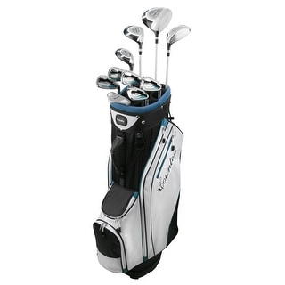 Powerbilt Countess Cyan 15 Piece Ladies Golf Package Set - Standard Length