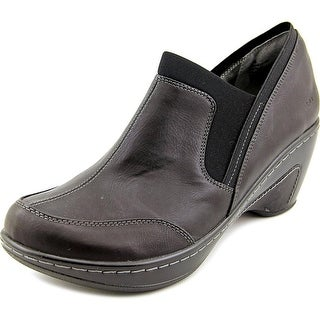 JBU by Jambu Trailhead Women Round Toe Synthetic Black Clogs