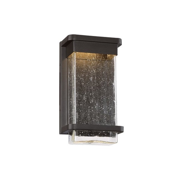 "Modern Forms WS-W32512 Vitrine 1-Light LED ADA Compliant Indoor / Outdoor Lantern Wall Sconce - 6.5"" Wide - n/a"