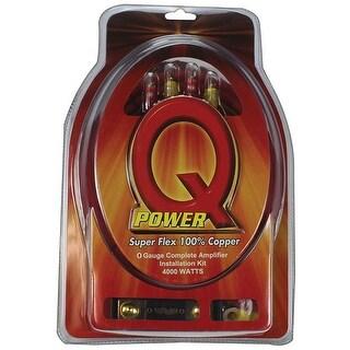 Qpower 0 Gauge amp kit 100% Copper