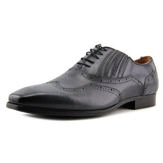 Steve Madden Masque Men  Wingtip Toe Leather Gray Oxford