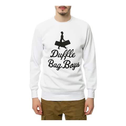 Crooks & Castles Mens The Duffle Bag Boys Sweatshirt
