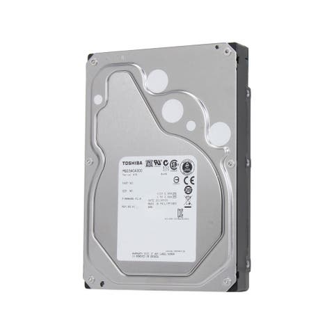 Toshiba IBM Dual Label MG03ACA300 3 Terabyte 64MB Hard Drive, Silver (Certified Refurbished) - 5.75 x 4 x 1 inches