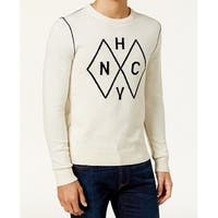 Tommy Hilfiger Snow White Mens Size Small S Crewneck Sweater