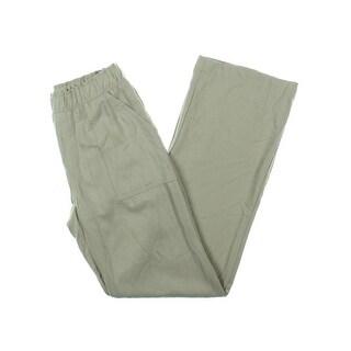 Karen Kane Womens Casual Pants Twill Flat Front
