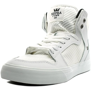 Supra Vaider Men  Round Toe Synthetic White Skate Shoe