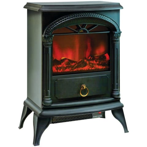 Comfort zone czfp4 21.5 fireplace electric stove