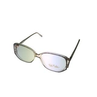 Bob Mackie Womens Opthalmic Eyeglass Plastic #749 Hand Painted Autumn - Medium