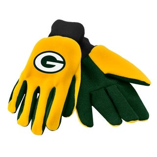 Green Bay Packers Work/Utility Gloves, One Size, Team Color