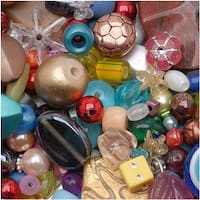 * Mr. Kitty's Big Bead Bonanza - Beads Mix - 1/2 Pound