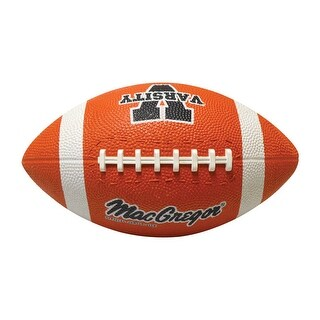 MacGregor 40-96605BX Size 6 Football, Brown, Rubber