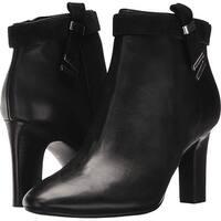 Ralph Lauren Womens Brin Almond Toe Ankle Fashion Boots