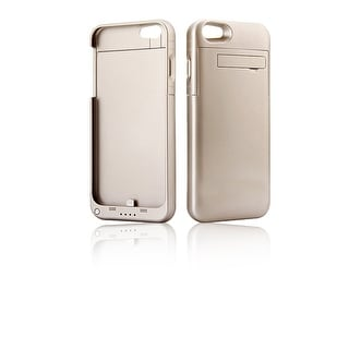 Indigi® Gold PowerBank Rechargeable Protective Battery Case for iPhone 7(3200mAh)