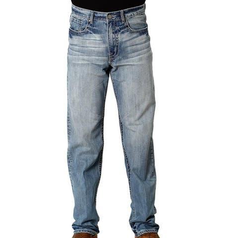 Tin Haul Western Jeans Mens Bootcut Blue