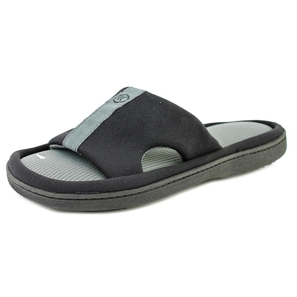 Isotoner Signature Active Women Open Toe Synthetic Slides Sandal