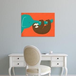 Easy Art Prints Jay Fleck's 'Let's Hang' Premium Canvas Art