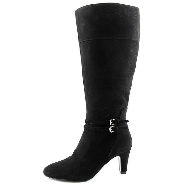 Bandolino Womens WISER WIDE CALF Pointed Toe Mid-Calf Cold Weather Boots