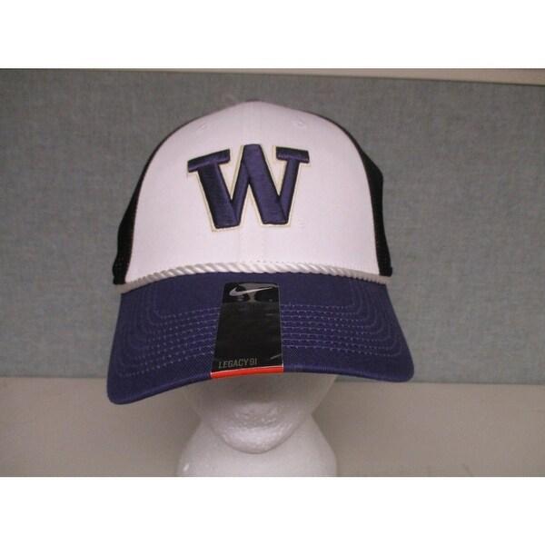 0cd55259c75 Shop Washington Huskies Mens Unisex Size OSFA Nike Cap Hat 28 - Free ...