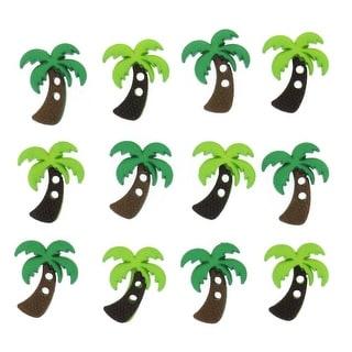 Dress It Up Embellishments-Sew Cute Palm Trees
